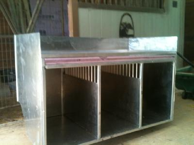 3 hole aluminum dog boxes bing images. Black Bedroom Furniture Sets. Home Design Ideas
